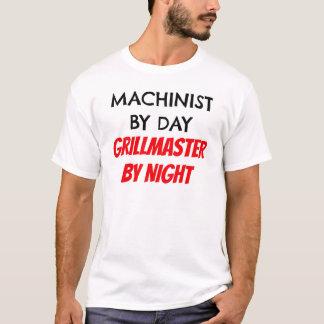 Maschinist bis zum Tag Grillmaster bis zum Nacht T-Shirt