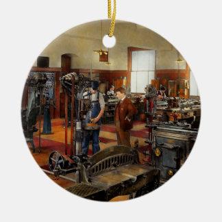 Maschinist - die Standardweise 1915 Keramik Ornament
