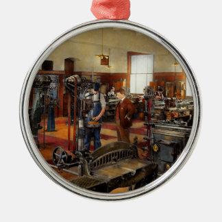 Maschinist - die Standardweise 1915 Silbernes Ornament