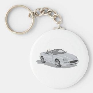 Maserati Spyder Standard Runder Schlüsselanhänger