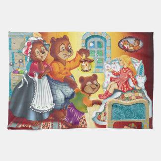 Masha und 3 Bären Geschirrtuch
