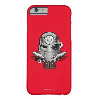 Maske der Selbstmord-Gruppen-| Deadshot u. Barely There iPhone 6 Hülle