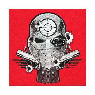 Maske der Selbstmord-Gruppen-| Deadshot u. Leinwanddruck