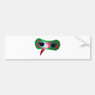 Maske mask autoaufkleber