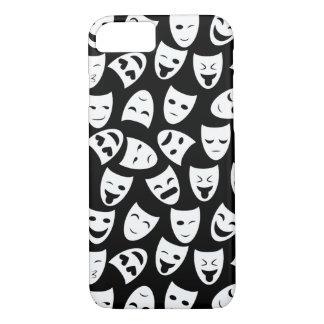 Maske mit unterschiedlichem Gefühl-Muster iPhone 8/7 Hülle