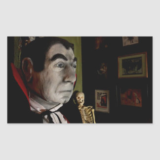Masken-Aufkleber Bela Lugosi Rechteckiger Aufkleber