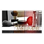 Maskenbildner, Cosmetology, Visitenkarten