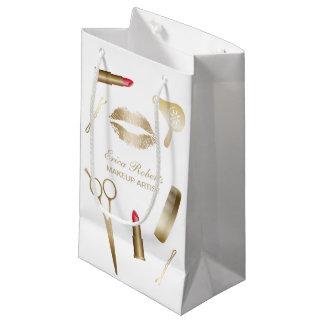 Maskenbildner-Goldschönheits-Salon-Kosmetik Kleine Geschenktüte