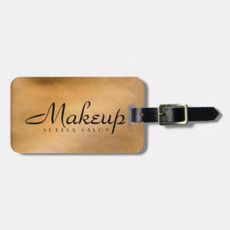 Maskenbildner-kupfernes metallisches kofferanhänger