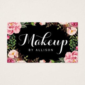 Maskenbildner-modernes Skript-Girly Visitenkarten