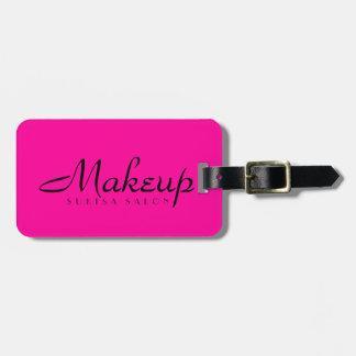 Maskenbildner-Pink Kofferanhänger