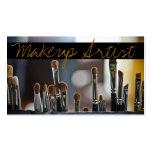 Maskenbildner, Schönheit, Salon, Cosmetologist Visitenkartenvorlagen
