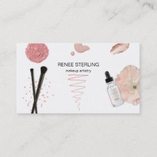 Rosa Pastell Visitenkarten Zazzle De