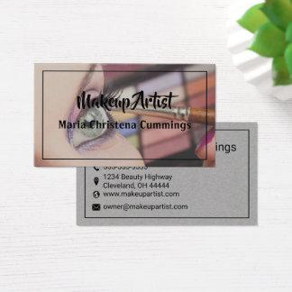 Maskenbildner-Visitenkarte Visitenkarte