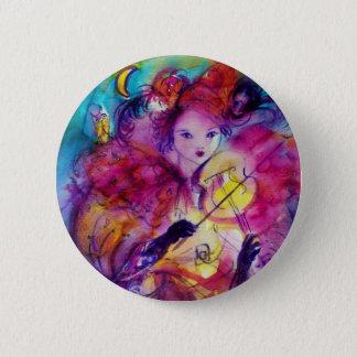 MASKERADE-NACHT/venezianischer Karneval Runder Button 5,7 Cm