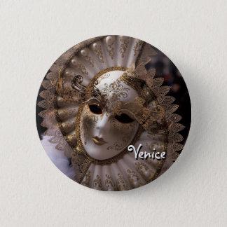 Maskerade Runder Button 5,1 Cm