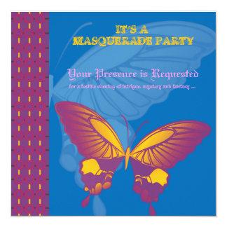 Maskeradepartei Paarduschen-Partykarten Einladungskarten