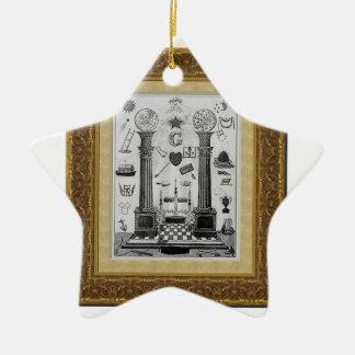 masonicpillars keramik ornament