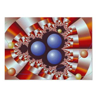 Maß mit drei schweres Kernen 12,7 X 17,8 Cm Einladungskarte