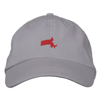 Massachusetts Bestickte Caps