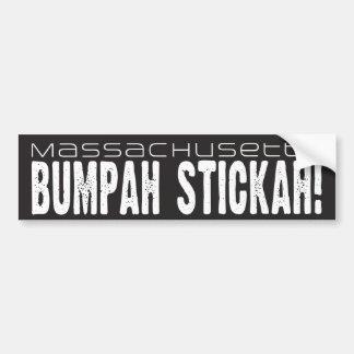 Massachusetts Bumpah Stickah! Autoaufkleber