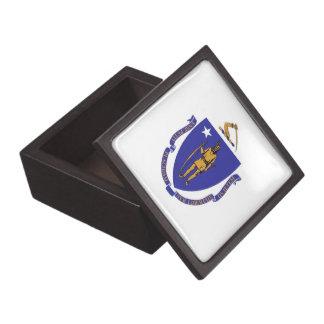 Massachusetts-Staats-Flaggen-Prämien-Geschenkboxen Schachtel