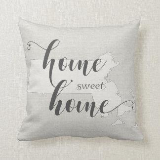 Massachusetts - Zuhause-süßer Zuhause Kissen