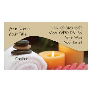 Massage-/Entspannungs-Visitenkarte
