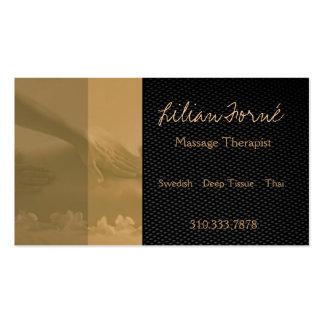 Massage II Visitenkartenvorlage