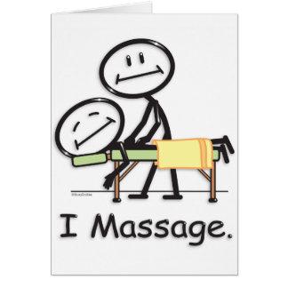 Massage Karte