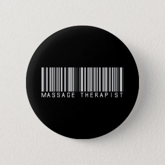 Massage-Therapeut-Bar-Code Runder Button 5,7 Cm
