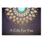 Massage-Therapeut-Geschenk-Karte Jumbo-Visitenkarten
