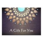 Massage-Therapeut-Geschenk-Karte Mini-Visitenkarten