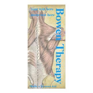 Massage-Therapeut-Gestell-Karten Vollfarbige Werbekarte