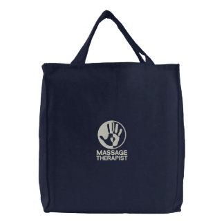 Massage-Therapeut gestickte Tasche