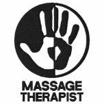 Massage-Therapeut gesticktes Shirt