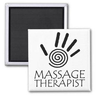 Massage-Therapeut-Magnet Quadratischer Magnet