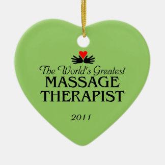 Massage-Therapeut-Verzierung Keramik Ornament