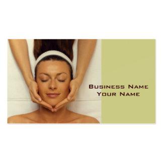 Massage-Therapeut-Visitenkarte Visitenkarten