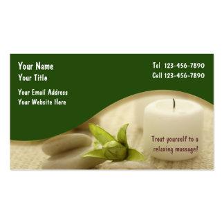 Massage-Visitenkarte Visitenkarten