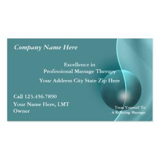 Massage-Visitenkarten