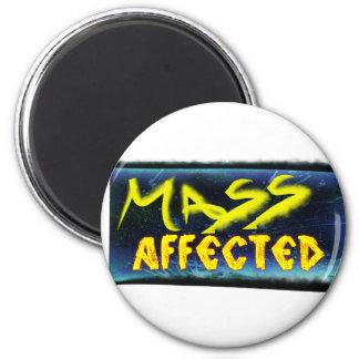 Massenbetroffenes Runder Magnet 5,7 Cm