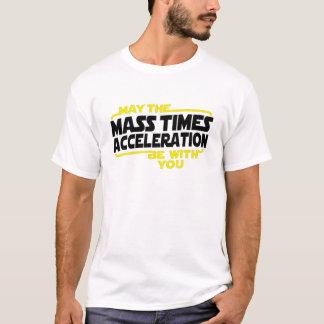 Massenzeit-Beschleunigung T-Shirt