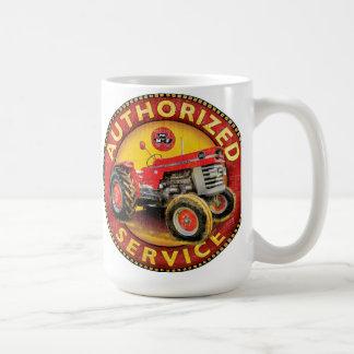 Massey Ferguson Traktorservice-Zeichen Kaffeetasse