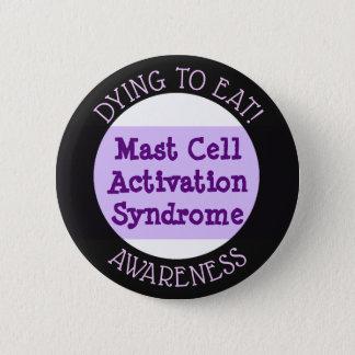 Mast-Zellen-Aktivierungs-Syndrom: Sterben, zum des Runder Button 5,1 Cm
