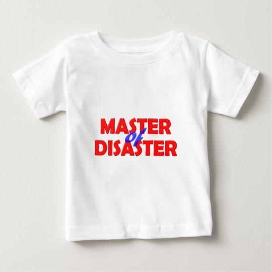 Master of Disaster Baby T-shirt