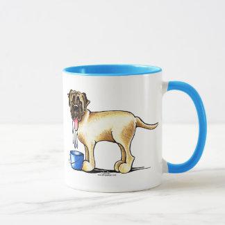 Mastiff-Wasser-Hersteller Tasse