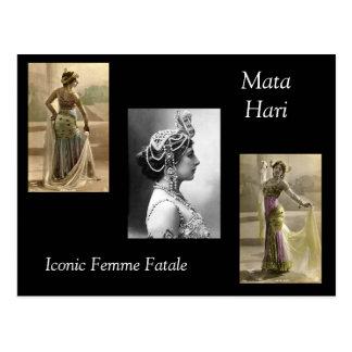 Mata Hari Postkarte