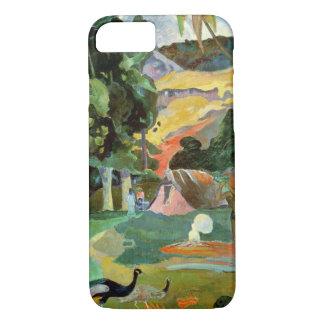 Matamoe oder, Landschaft mit Pfaus, 1892 iPhone 8/7 Hülle