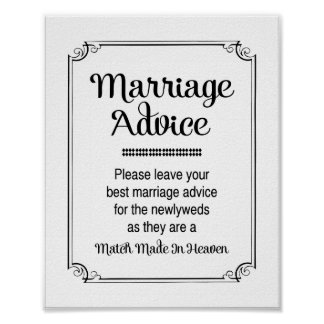 Match gemacht im Himmels-Heirat-Ratezeichen Poster
